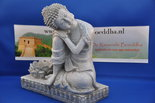 Boeddha-met-lotus-waxine-lichtje