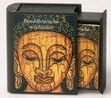 Boeddhistische-wijsheden-met-houten-lade