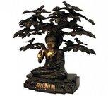 Boeddha-Sakyamoeni-beeld-onder-Bodhiboom