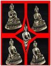 Assortiment-voordeel-5-Dhyani-Boeddha-beeldjes-10-cm