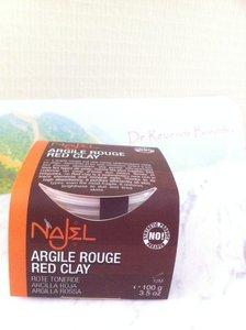 Face pack Rode kleipoeder voor gezichtsmasker