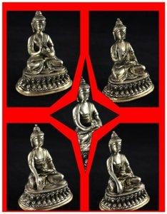 Assortiment voordeel 5 Dhyani Boeddha beeldjes 10 cm